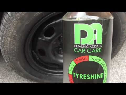 Detailing addicts car care tyre shine product review