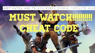 Top 7 legal cheat ways to win fortnite battle royale!!! (Must watch)
