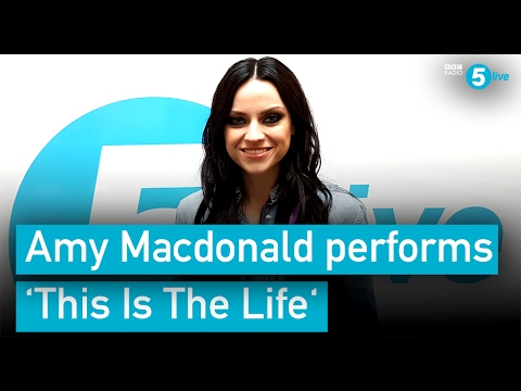 Amy MacDonald performs This is the Life for BBC Radio 5 live