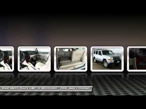 2006 jeep commander minneapolis st cloud monticello mn 25509b youtube. Black Bedroom Furniture Sets. Home Design Ideas