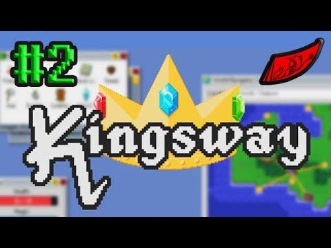 InkEyes Plays: Kingsway #2 - Bags (Roguelike Operating System)