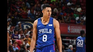 Zhaire Smith Could Be Key Contributor For 76ers   Top Plays 2019 NBA Summer League