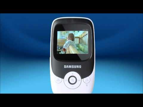 samsung sew 3022 wireless video baby monitor youtube rh youtube com