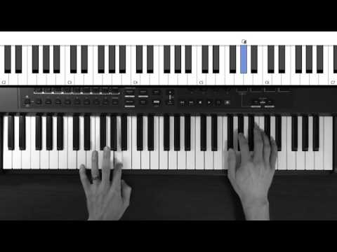 Piano Tutorial - Shores by Brian and Katie Torwalt (Key of A)