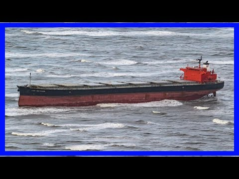 Stranded cargo ship freed from german sandbank after 3 days