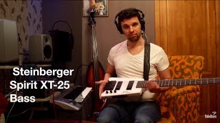 TEST Steinberger Spirit XT-25 Standart Bass