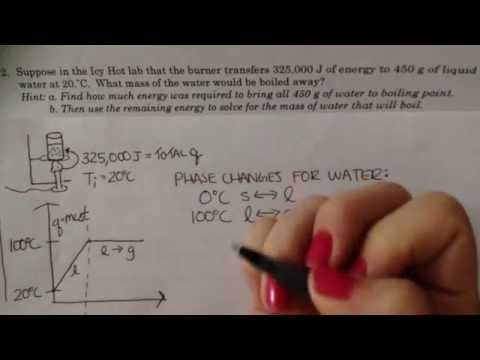 Unit 3 worksheet 4 number 2 - YouTube