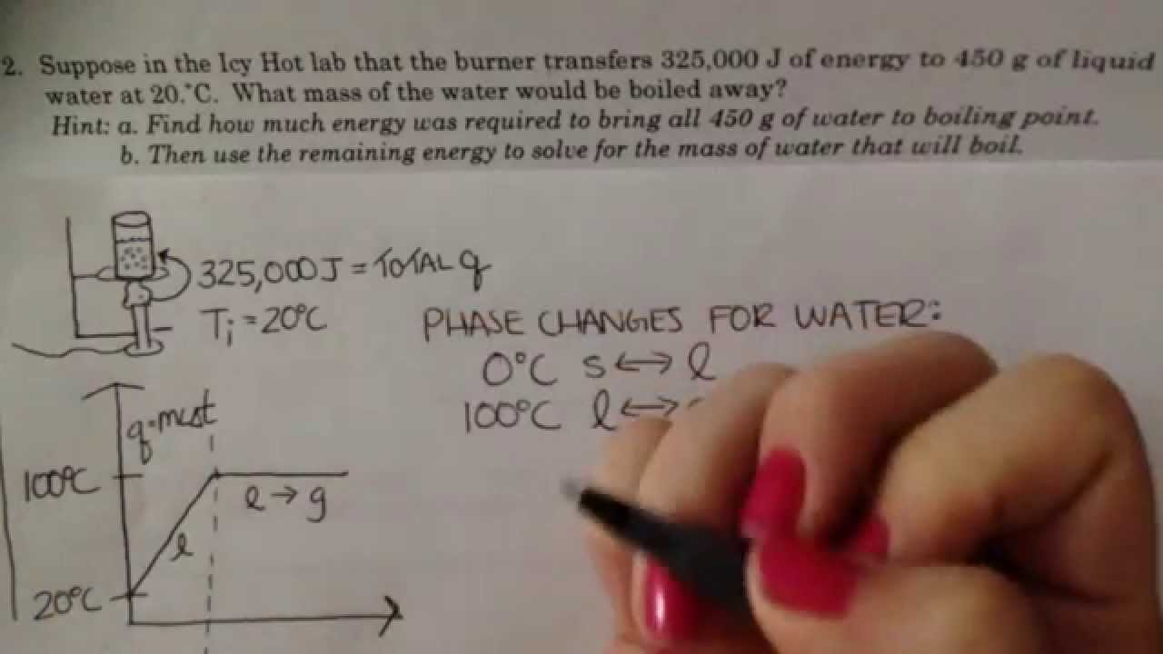 Unit 3 worksheet 4 number 2 - YouTube