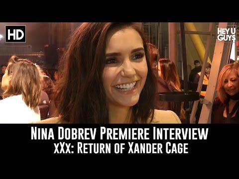 Nina Dobrev Premiere Interview - xXx: Return of Xander Cage