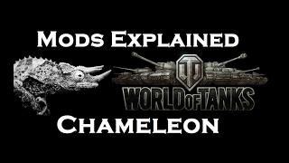 PlazmaKeks World Of Tanks - Mods Explained - Chameleon