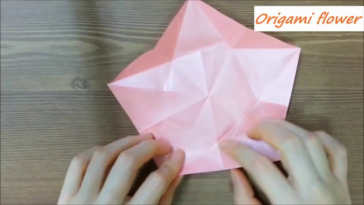 How To Make Easy Origami Paper Flowers Carambola Instructions