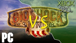 Bioshock Infinite PC vs XBOX 360 Comparison (HD)