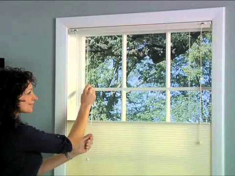 Cellular Shades Bottom Up Top Down Youtube