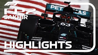 2020 Sakhir Grand Prix: FP2 Highlights