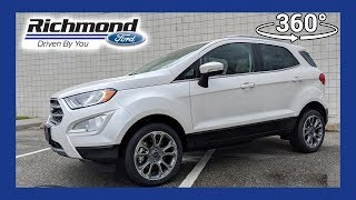 2018 Ford EcoSport Titianium 360 Degree Virtual Test Drive