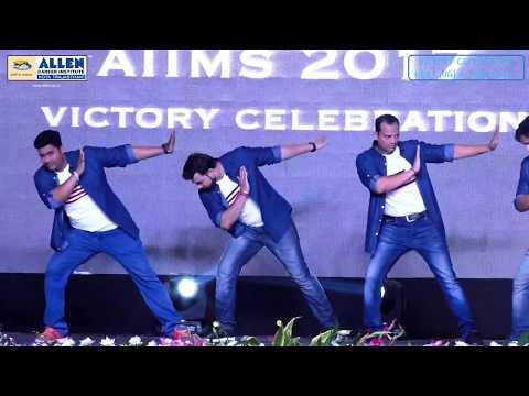 ALLEN NEET UG & AIIMS 2017 Victory Celebration: Amazing Group Dance performance