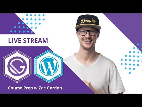 Gatsby and WordPress Tutorial 1 - Setting Up WP GraphQL thumbnail