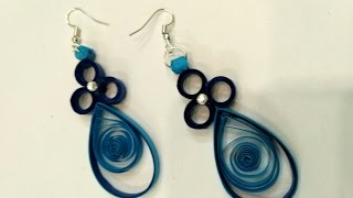 Easy Quilling Earring