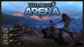 This Unit Was So Op! - Total War: Arena Gameplay