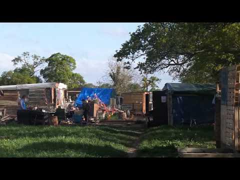 Upton Frack Free Camp (Free Dutton) - A quick walk through