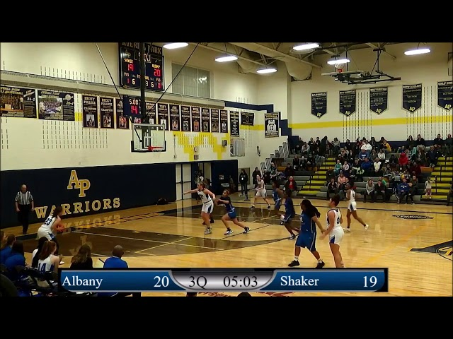Game Highlights Girls' Varsity: Shaker vs Albany