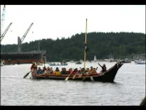 Squaxin Island Canoe Journey 2008 pt 4 of 5