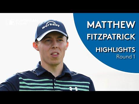 Matt Fitzpatrick Highlights | Round 1 | 2019 Omega Dubai Desert Classic