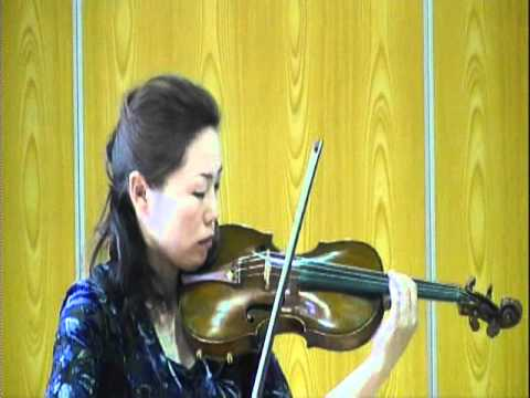 劉薇 ヴァイオリンの響き   20110626-162525.