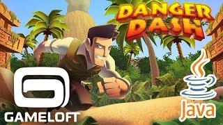 Download Danger Dash Gameloft JAVA GAME 2013 year (World Record 4'947'007 points!)