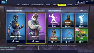 FORTNITE *NEW* Head of Operations Skin 1200 Vbucks Itemshop 08.12.2018 EpicGames