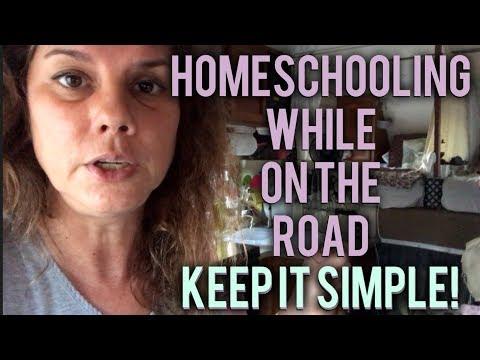 rv-homeschooling-~-keeping-it-simple-!