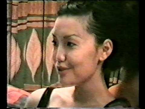 1997 Бурятская модель Ольга Итигилова ч 4 Buryat model Olga Itigilova part 4