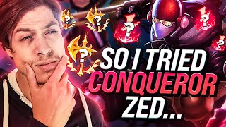 LL STYLISH | SO I TRIED CONQUEROR ZED...
