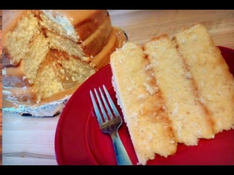 Caramel Cake Recipe - HOW TO MAKE A CARAMEL CAKE