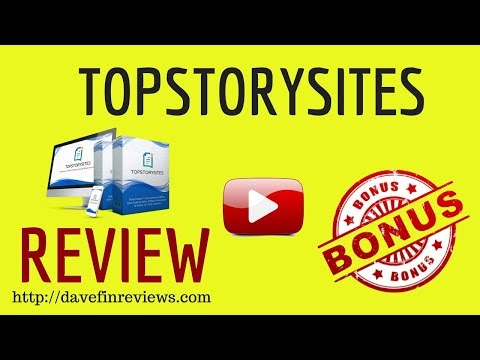 TopStorySites Review Info Video |  What Is TopSorySites
