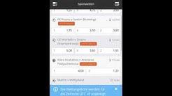 Intertops App - Video und Tutorial zu Intertops mobile