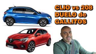 CARA a CARA: Renault CLIO RS Line 130 vs Peugeot 208 GT LINE 130 - ¿CUÁL es EL MEJOR?