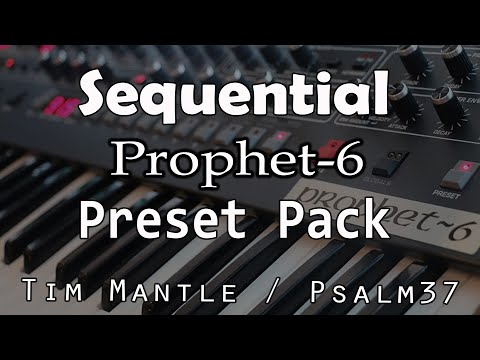 !!All New!! DSI Prophet 6 - 256 new Sounds / Patches / Presets