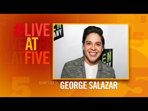 Broadway.com #LiveatFive with George Salazar of THE LIGHTNING THIEF