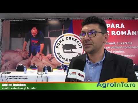 Sub media europeană la consumul cărnii de porc