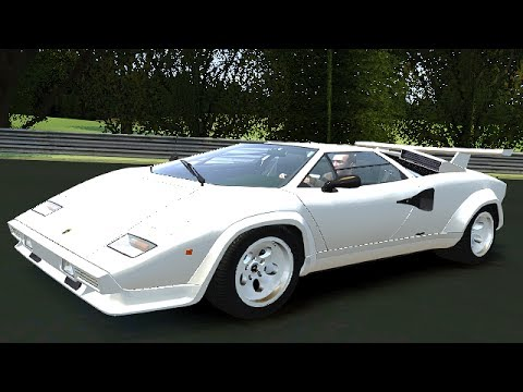 gta iv lamborghini countach lp500 qv 39 85 on n rburgring youtube. Black Bedroom Furniture Sets. Home Design Ideas