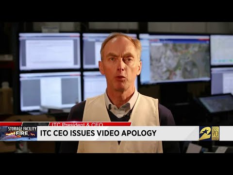 ITC CEO issues video apology