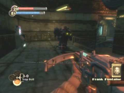 Bioshock - Big Daddy and Little Sister stalking