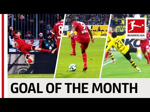 Top 10 best goals january - vote for the goal of the month
