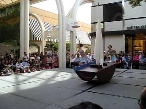 Dance Performance at Stanford Shopping Center