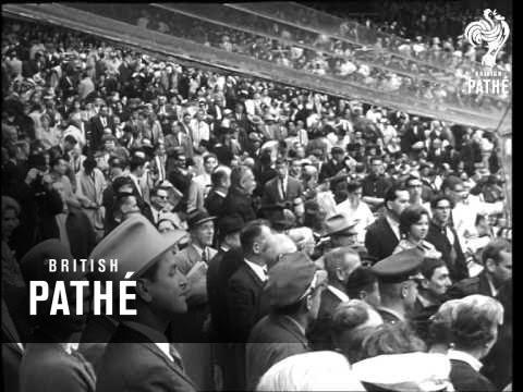President Johnson Opens Baseball Season (1964)