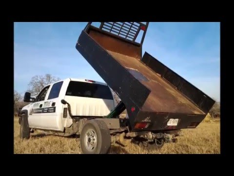 How To Install A Dump Bed Kit Without A Shop Pierce