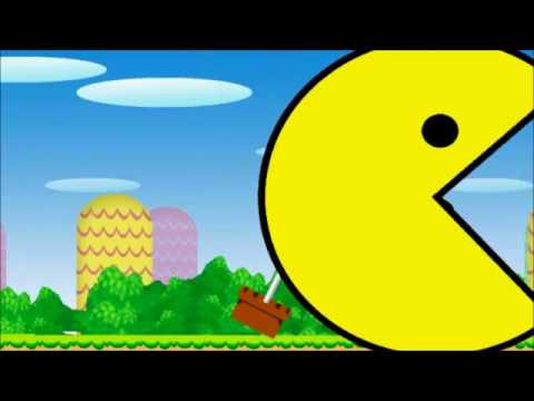 Pacman In Mario Land The Game-Bowser12345