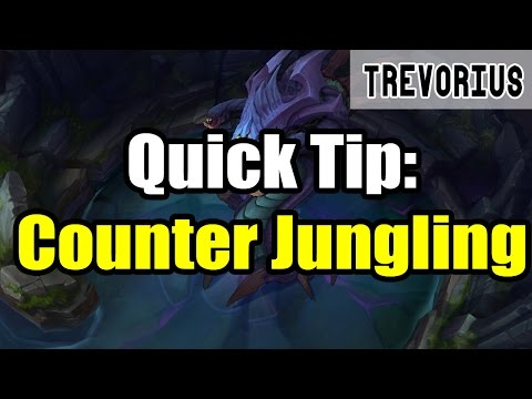 Quick Tip: Easy Counter Jungling Method | League of Legends