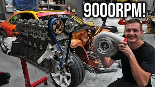 S15's New Engine! ($20,000 2JZ Formula Drift Build)